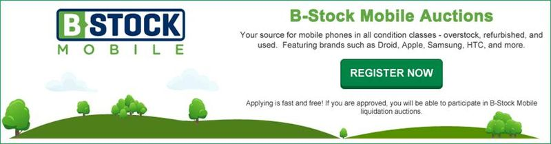 Wholesale Cell Phone Marketplace BStockMobile now live
